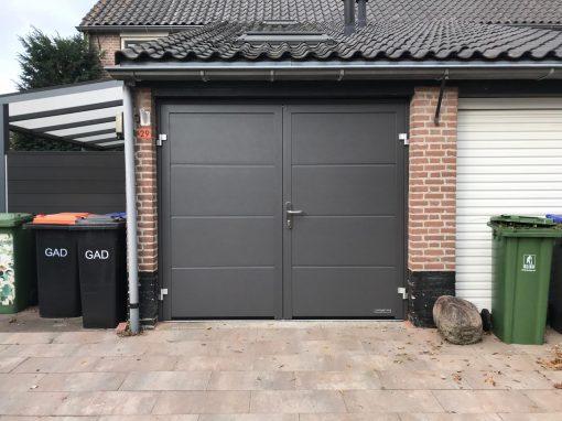 Openslaande garagedeur in Blaricum