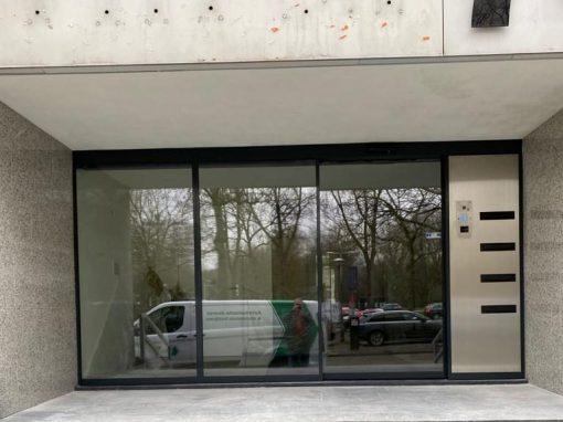 Automatische schuifdeur in Amsterdam